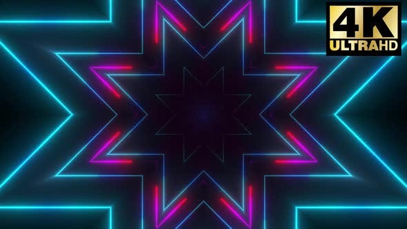 Thumbnail for 5 Abstract Neon Stroke Vj Loop Pack