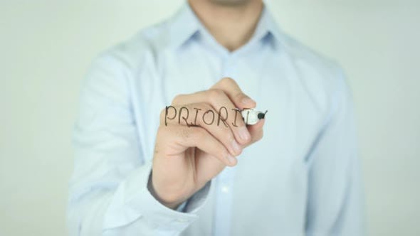 Thumbnail for Priority�, Writing On Screen