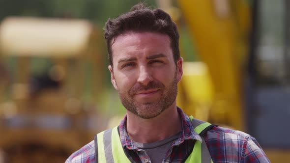 Thumbnail for Portrait of construction worker