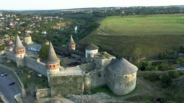 Old Castle in Ukraine