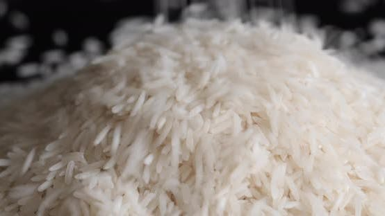 Thumbnail for Basmati rice close up