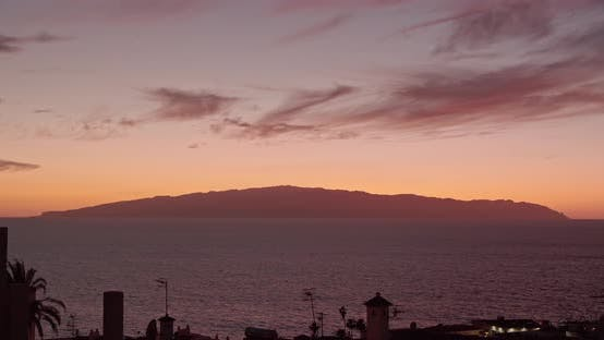 Thumbnail for Amazing View of La Gomera Canary islands