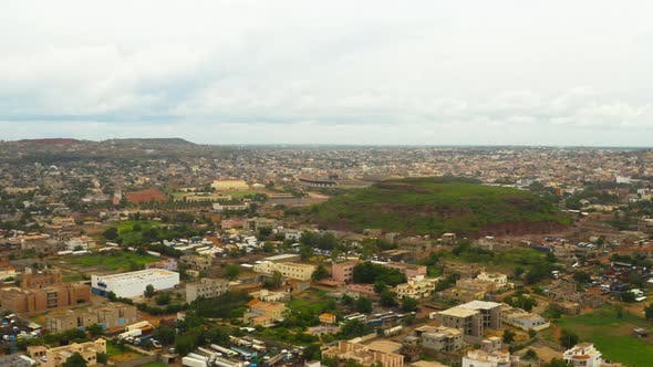 Thumbnail for Africa Mali City Aerial View