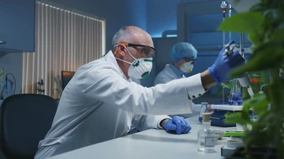 Thumbnail for Scientists Working in a Laboratory
