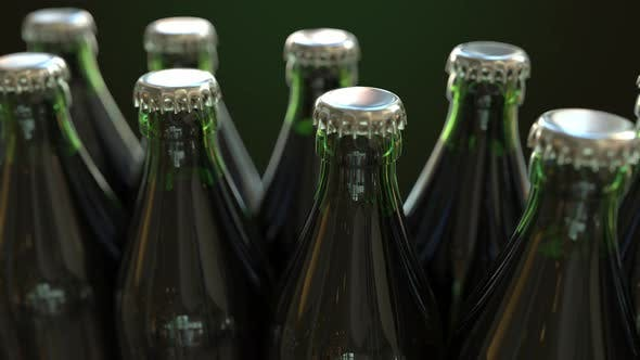 Cover Image for Green Bottles on the Conveyor