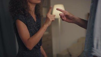 Couple Evening Quarrelling