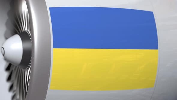 Thumbnail for Turbine with Flag of Ukraine