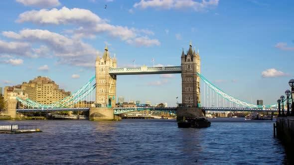 Thumbnail for Tower Bridge Time Lapse, London
