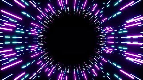 Neon Beam Place Holder 4K