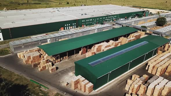 Warehouse of Plant Manufacturing Parquet