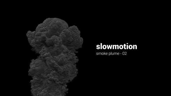 Thumbnail for Slowmotion Smoke Plume - 02