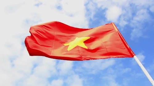 Vietnam Sky & Flag