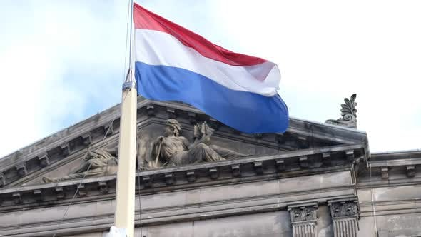 Cover Image for Holland Amstertam Flag Super Slow Motion