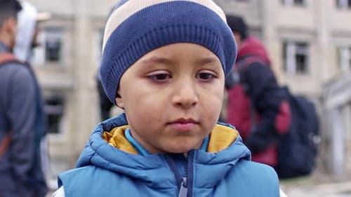 Little Refugee Boy
