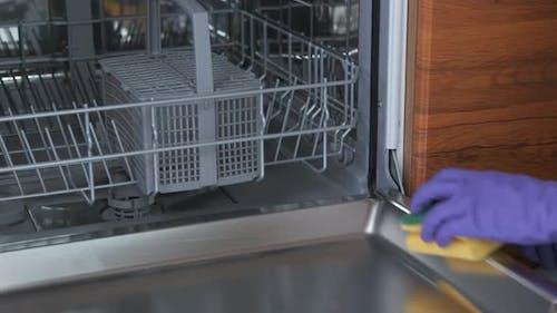 Wipe a Dishwasher.