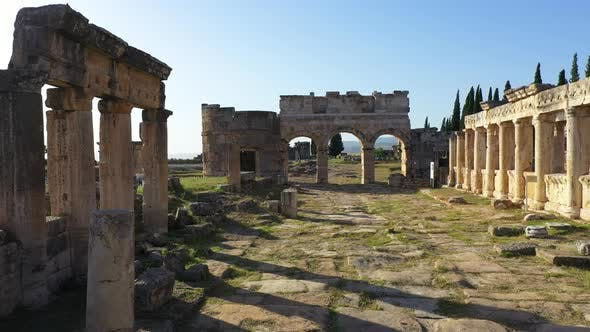 Thumbnail for Ancient ruins of Hierapolis