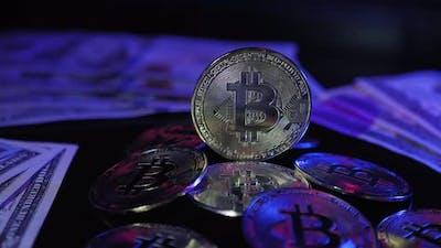 Bitcoin. BTC. Blockchain.
