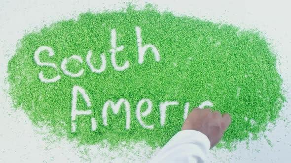 Green Writing   South America