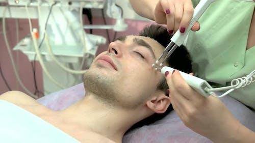 Microcurrent Therapiegerät Male Face