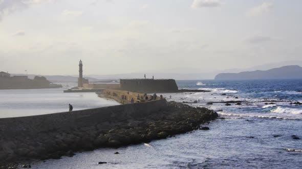 Thumbnail for a coastal scene with lighthouse