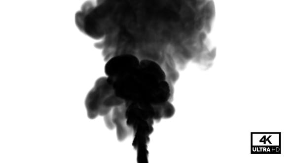 Thumbnail for Viele schwarze Rauch Rising Streams