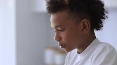 Sad Boy Facial Emotion Spbi