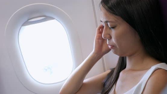 Thumbnail for Woman feel sick on plane