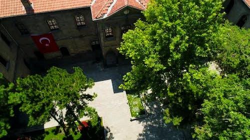 Historic High School Of Kayseri Turkey