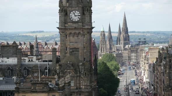 Thumbnail for Time lapse of Princes street in Edinburgh