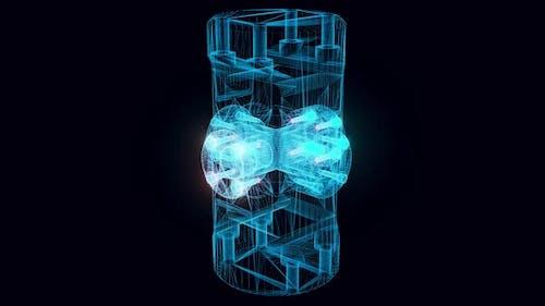 Universal Joint Hologram Rotating Hd