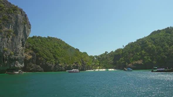Beautiful Small Beach on Phi Phi Don Island
