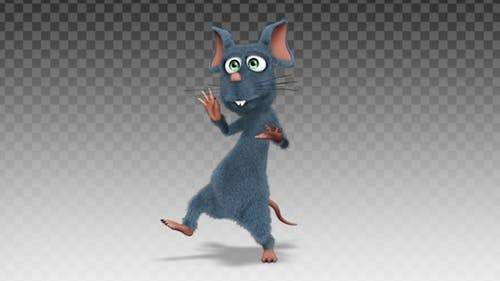 Cartoon Rat - Dance Catchy