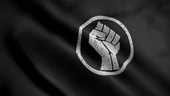 Power Hand Flag Angle