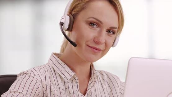 Thumbnail for Friendly customer service representative