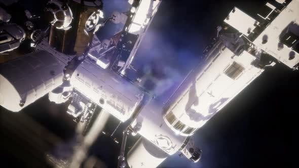 Thumbnail for International Space Station in Outer Space