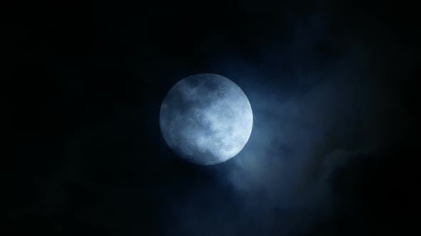 Thumbnail for Full Moon Clouds
