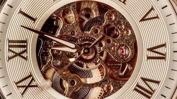 Spiral Clock Track of Time