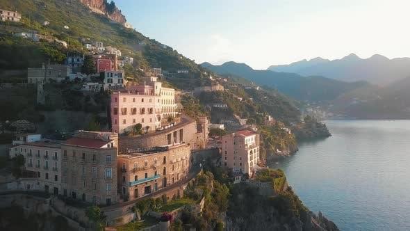Thumbnail for Amalfi Coast Drive By Dawn