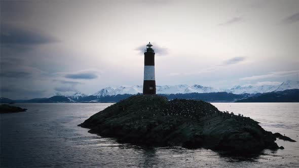Thumbnail for Lighthouse in Tierra Del Fuego, Argentina.