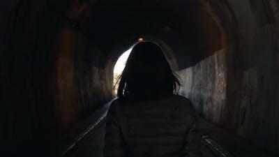 Women are Walking Alone in the Dark
