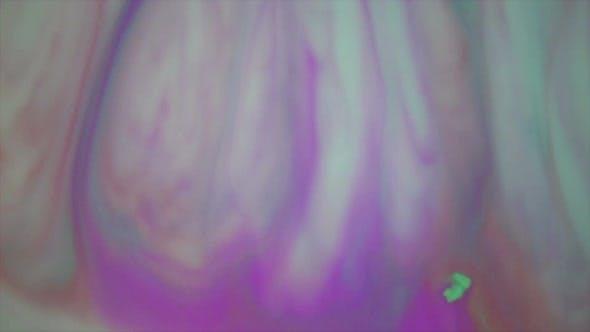 Thumbnail for Purple Aqua Paint In Motion