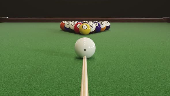 Thumbnail for Starting Shot of a Billiard Game