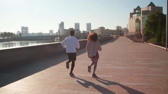 Thumbnail for Jogging Together In Daylight