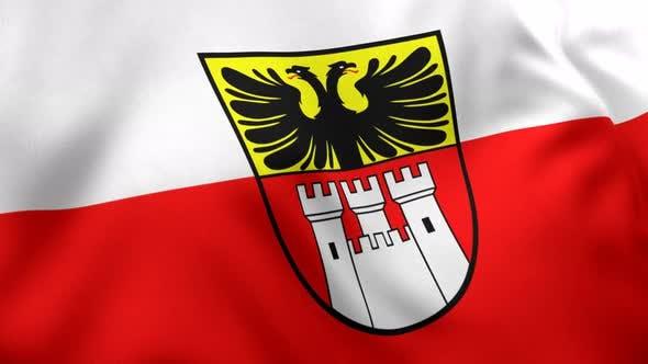 Duisburg City Flag - 4K
