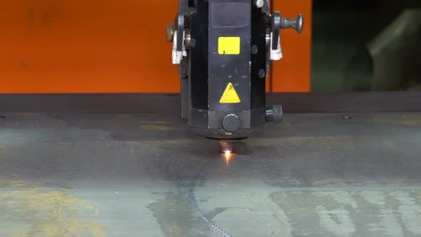 Thumbnail for Laser Cutting of Metal on the CNC Machine