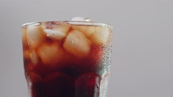 Cover Image for Iced coke drink