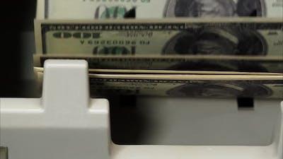 Burning of 500 Euro Banknotes on Black Background