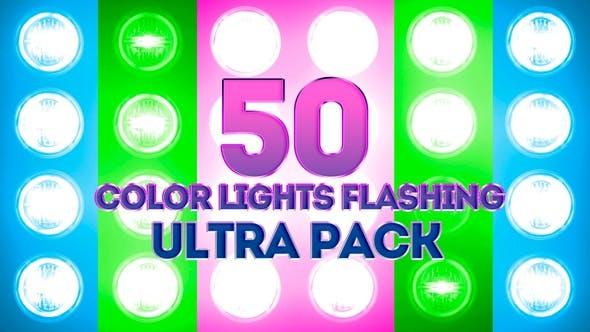 Farblichter blinkend Ultra Pack