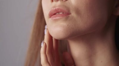 Lip Augmentation Aesthetic Cosmetology Woman Face