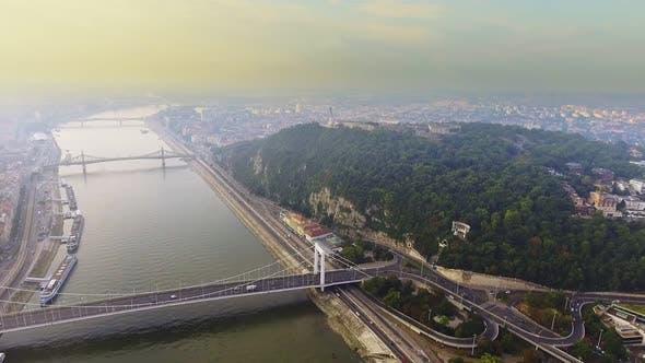 Thumbnail for Luftaufnahmen Budapest, Ungarn.